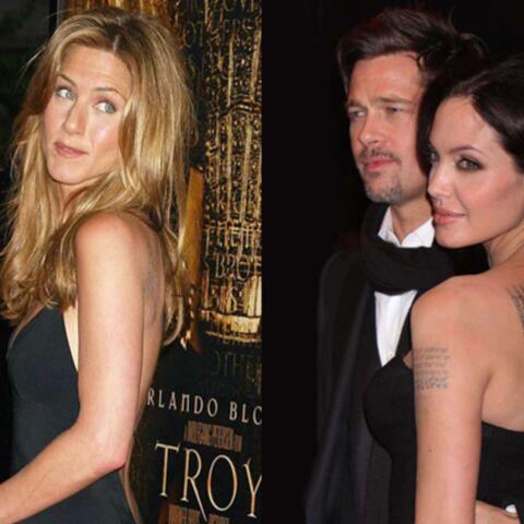 Jennifer Aniston, trop heureuse… pour Brad et Angelina