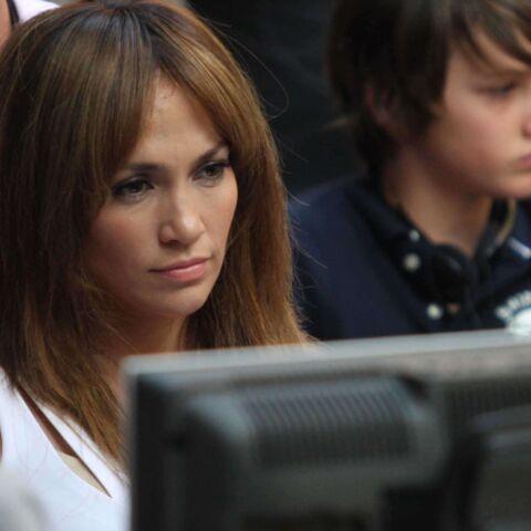 Jennifer Lopez en direct live avec ses enfants