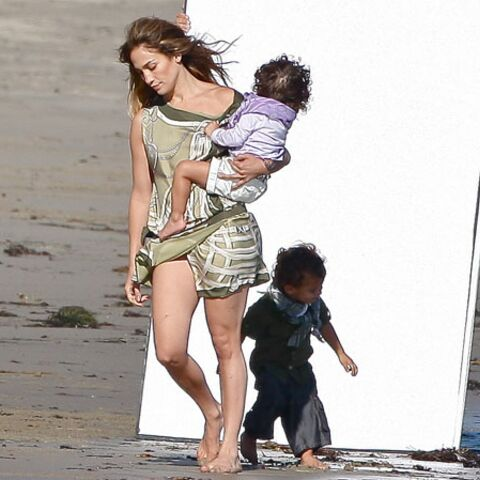 Photos- Jennifer Lopez: shooting en famille pour Gucci