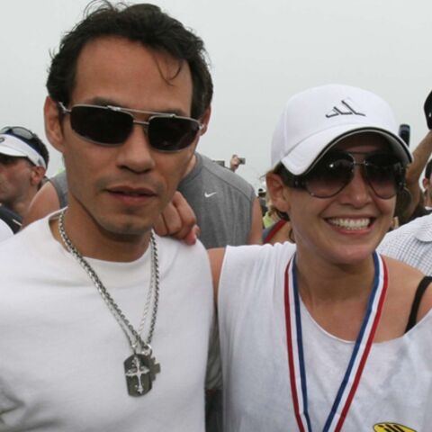 Le triathlon de Jennifer Lopez en photos