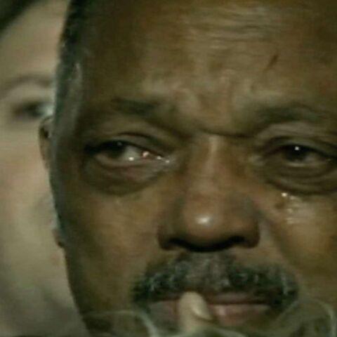 Jesse Jackson bouleversé par la victoire d'Obama