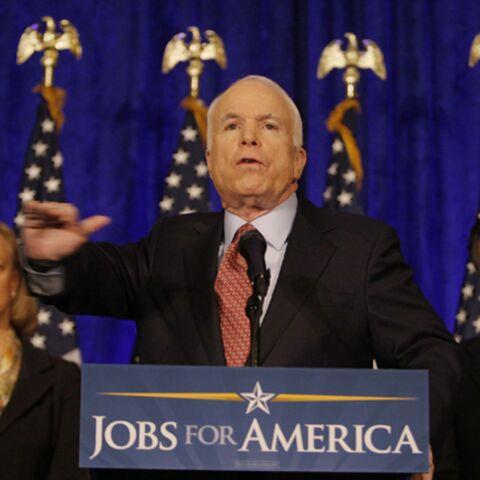 J-8: Barack Obama jubile, John McCain frémit