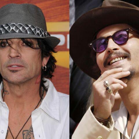 Tommy Lee veut Johnny Depp pour jouer son propre rôle