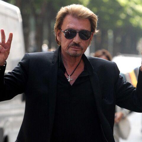 PHOTO – Johnny Hallyday sa fille sa fierté: Le rockeur poste un doux message pour les 9 ans de Joy