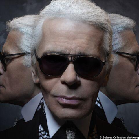 Karl Lagerfeld pour les 3 Suisses, une certaine idée du luxe