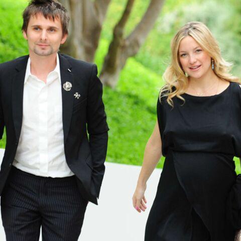 Kate Hudson et Matt Bellamy: enfin un prénom pour leur bébé