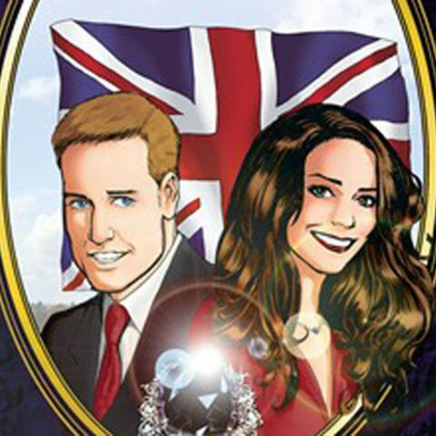 Kate et William: comics et love affair