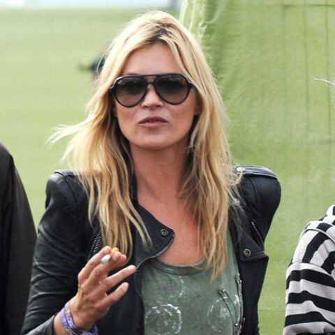 Grosse frayeur pour Kate Moss