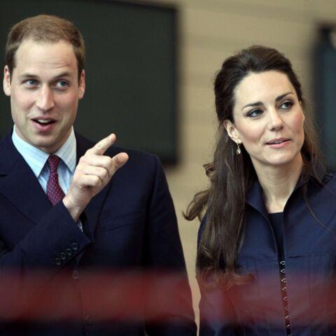 Kate et William: sortie pluvieuse, mariage heureux?
