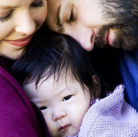 Katherine Heigl présente sa petite fille