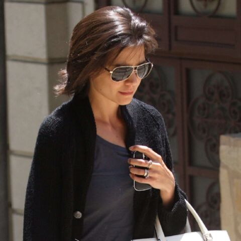 Katie Holmes, working-girl dans Sex And The City?