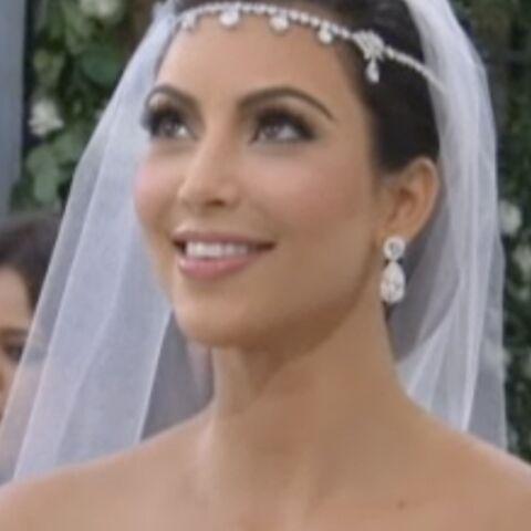 Vidéo- Kim Kardashian immaculée pour le grand jour