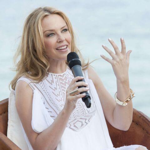 Kylie Minogue, émerveillée par son neveu
