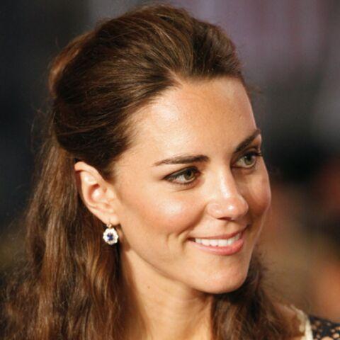 Aucune parure de bijoux n'est trop belle pour la Duchesse de Cambridge