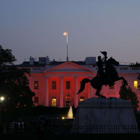 La Maison Blanche prend des couleurs