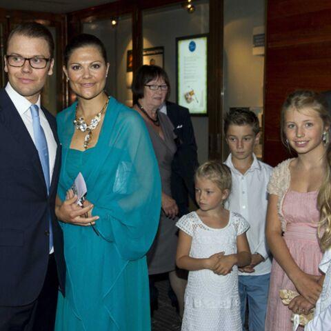 Photos: Victoria de Suède et Daniel, futurs parents à la noce