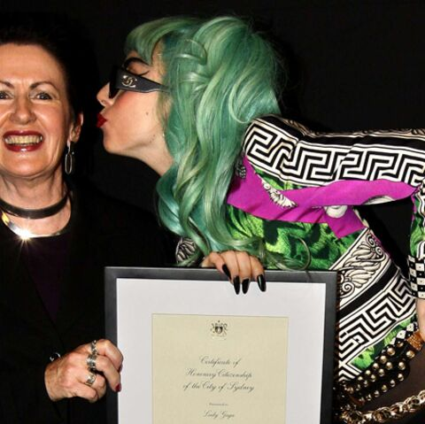 Lady Gaga, citoyenne d'honneur de Sydney