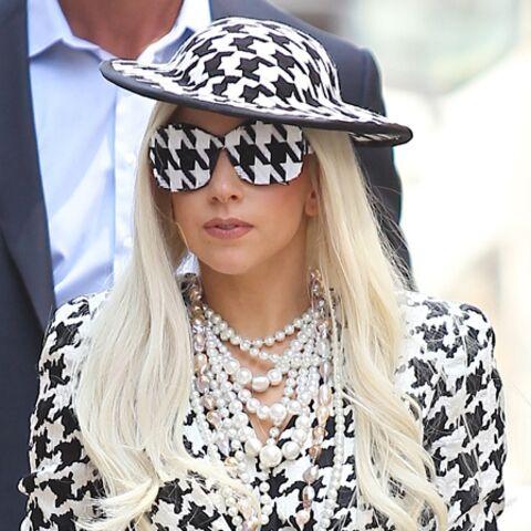 Lady Gaga fête le nouvel an à New York