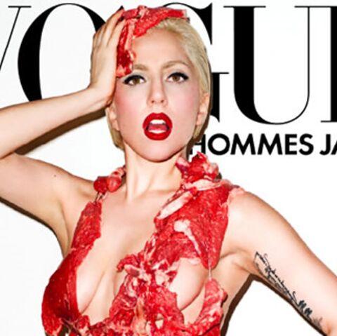 PHOTO – Lady GaGa, toujours aussi crue
