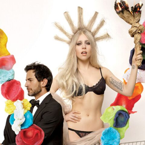 Photo- Lady GaGa, icône (dénudée) de la liberté?