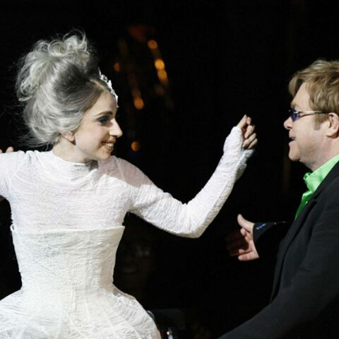 Lady Gaga en duo avec Elton John