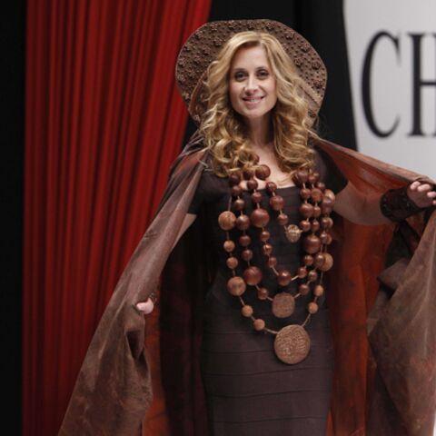 Lara Fabian, Valérie Damidot, Daniela Lumbroso… défilent chocolatées!