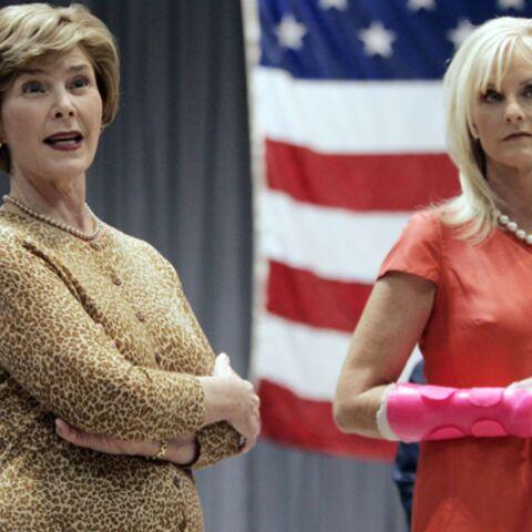 Laura Bush et Cindy McCAin, républicaines de cœur