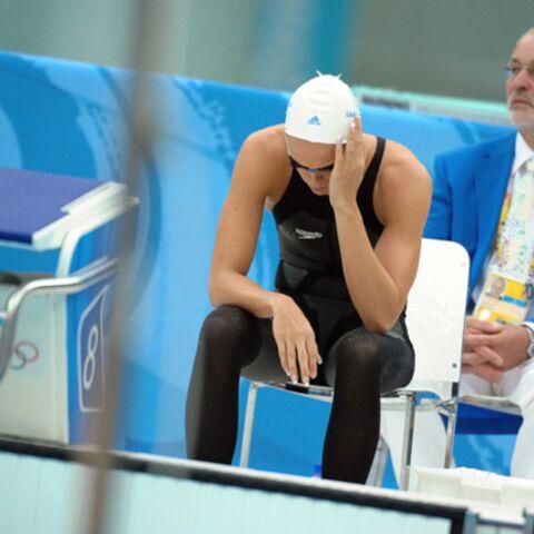 Laure Manaudou: à l'eau!