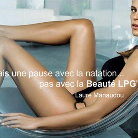 Regardez: poses lascives pour Laure Manaudou
