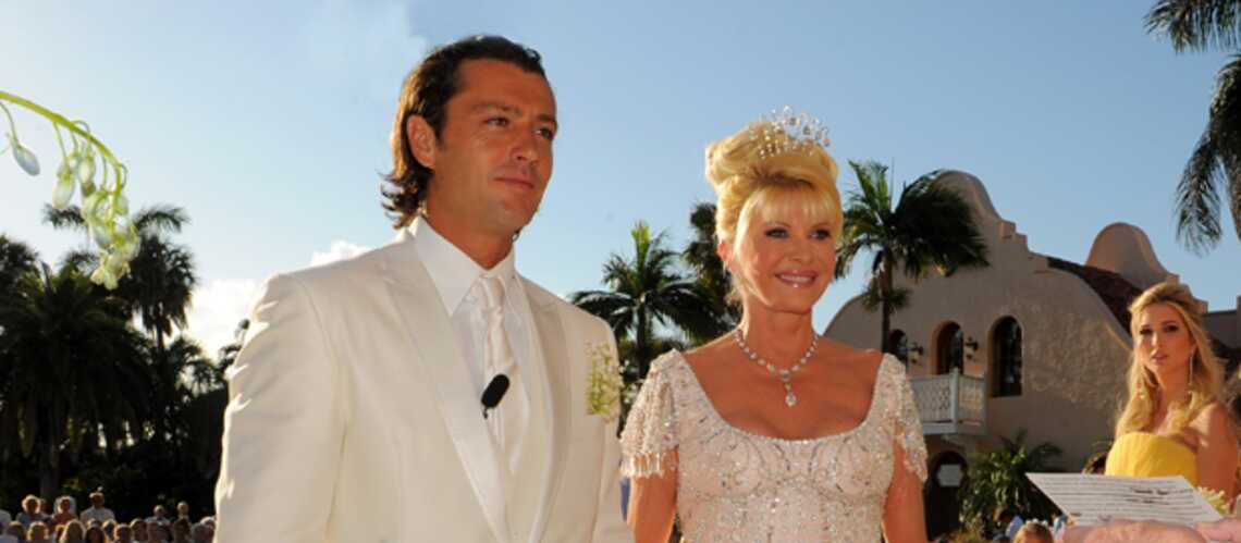 Ivana Trump: les photos de son quatrième mariage