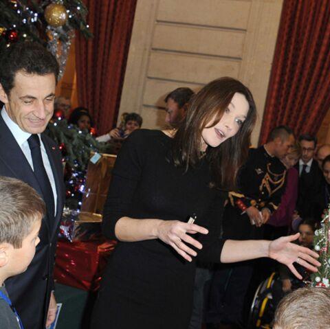 Photos d'un après-midi de fête chez les Sarkozy