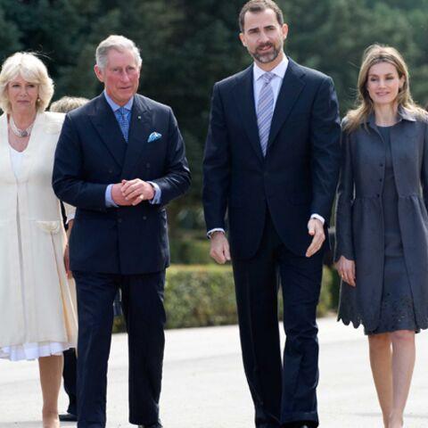 Photos- Le prince Charles et Camilla Parker Bowles en visite à Madrid