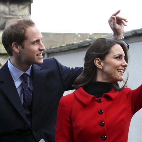 En route pour le mariage du prince William et Catherine Middleton