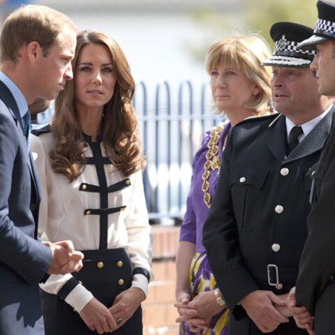Kate et William sur les lieux des émeutes anglaises
