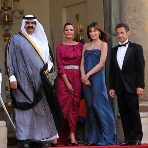 Gala chez Carla et Nicolas Sarkozy