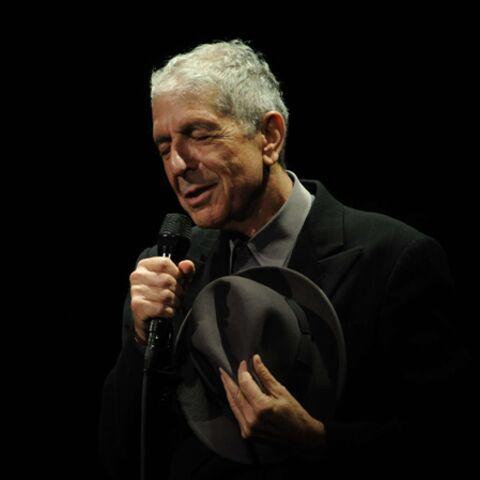 Leonard Cohen s'est effondré sur scène