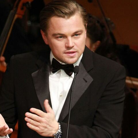 Leonardo Di Caprio: les yeux bleus, mais pas la voix de Sinatra