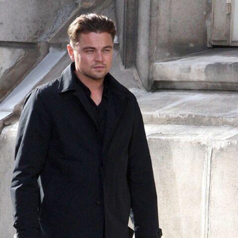 Leonardi DiCaprio n'en finit plus de tourner dans Paris