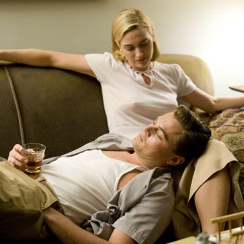 Kate Winslet et Leo DiCaprio, onze ans après Titanic, de nouveau amoureux dans Les Noces Rebelles