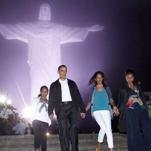 Les Obama au cœur du Brésil