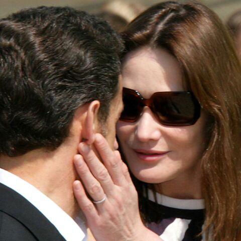 Carla et Nicolas Sarkozy: preuves d'amour