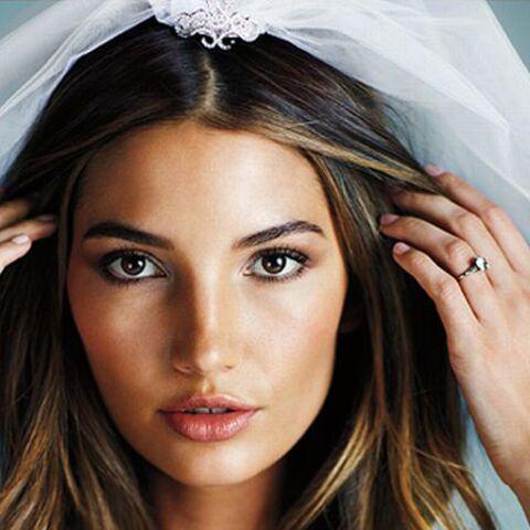 La torride Lily Aldridge se marie, pour de vrai
