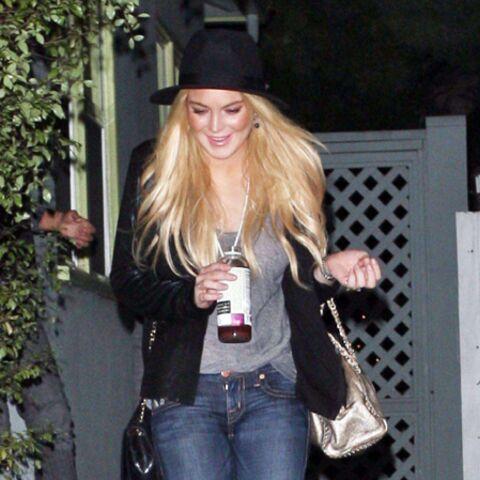 Lindsay Lohan est toujours une alcoolique chronique