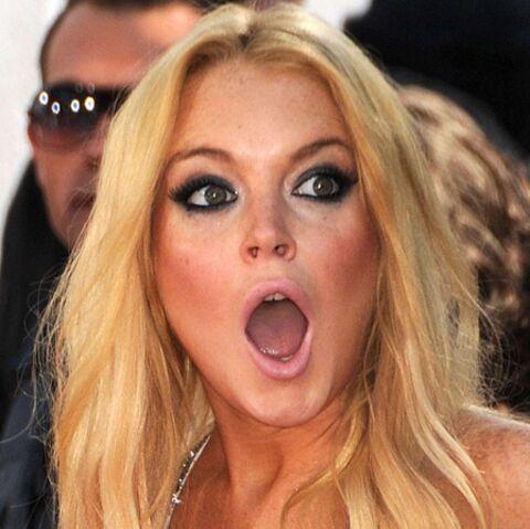 Lindsay Lohan: un policier jette sa coke à la poubelle!