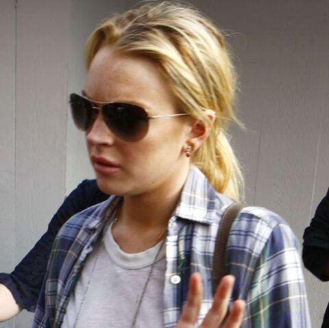 Lindsay Lohan menacée!