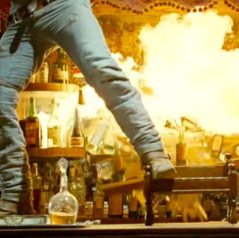 Lucky Luke: la fausse baston de saloon des acteurs tourne mal