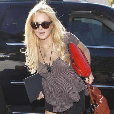 Lindsay Lohan, alcoolique mais toujours fashion