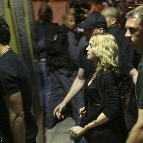Madonna à Jérusalem… avec Jesus