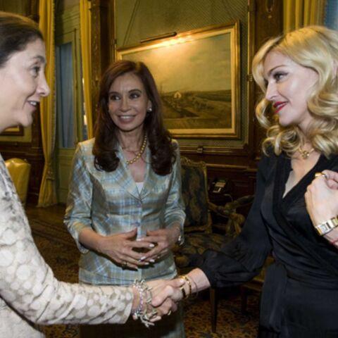 Madonna se met sur son 31 pour rencontrer Ingrid Betancourt