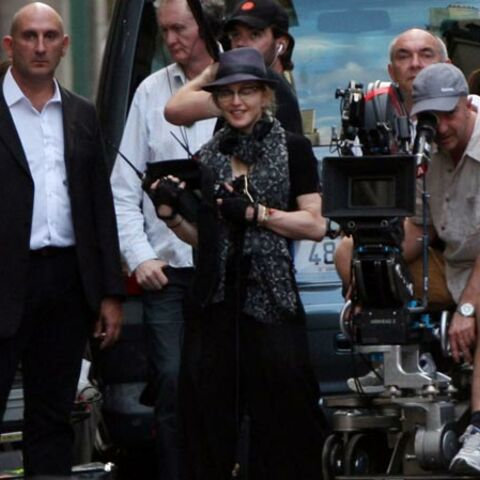 Photos-Madonna tourne son film de vacances à Paris